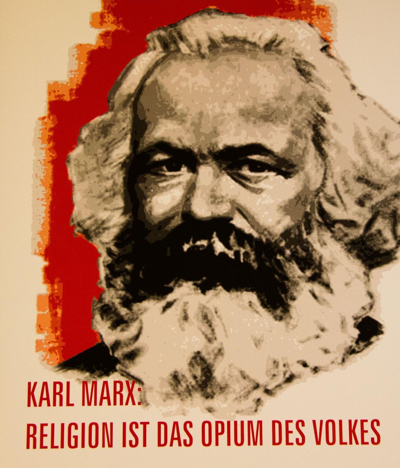 Karl-Marx-Portriat