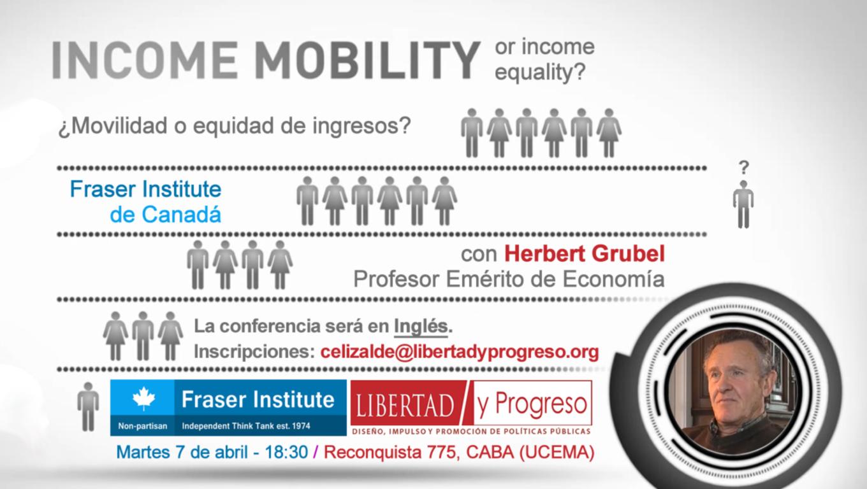 Movilidad o equidad de ingresos