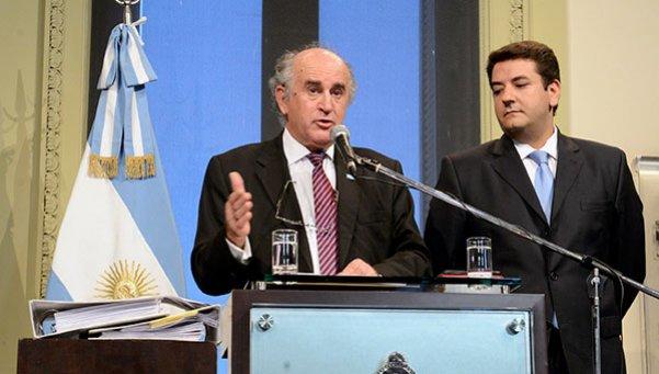 Oscar Parrilli, Secretario de Inteligencia de la Presidencia de la Nación Argentina.