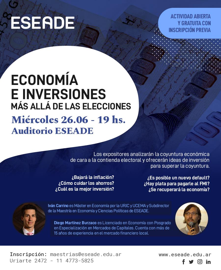charla-economia-inversiones CARRINO BURZACO